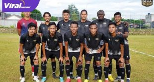 Starting eleven Dewa United FC. FOTO : VIRALSUMSEL.COM