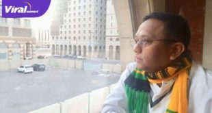 H Rudi Irawan digadang jadi calon manajer Sriwijaya FC. Foto : viralsumsel.com