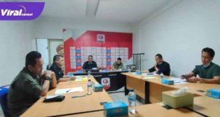 Jajaran Direksi Sriwijaya FC gelar rapat di Sekretariat Sriwijaya FC, FOTO : MO SFC