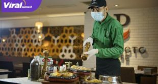 """Promo spesial """"Hot Plate Steak"""" di Perfeto Cafe, L Floor - The Excelton Hotel Palembang. Foto : viralsumsel.com/lia"""