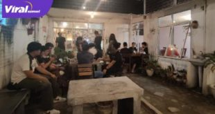 Suasana Kopi Dusun cafe dengan interior Instagramable di kawasan Jalan Merdeka. Foto : UIN/Nouval