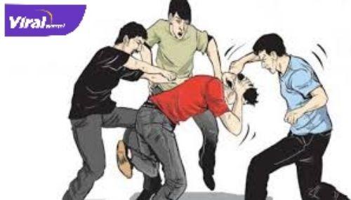 Ilustrasi pencuri dihajar massa. Foto : google