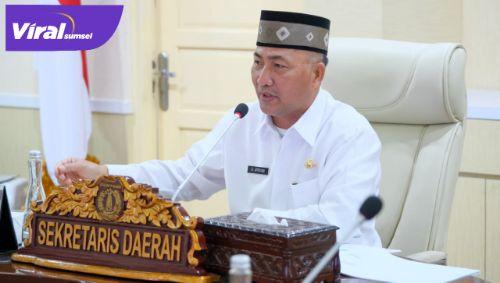 Sekda Drs H Apriyadi MSi. Foto : viralsumsel.com