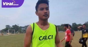 Ikhwan Ciptady bek tengah Sriwijaya FC. Foto : SFC for viralsumsel.com
