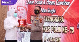 Fitrianti Agustinda Wakil Walikota Palembang (kemeja putih). Foto : viralsumsel.com/kai
