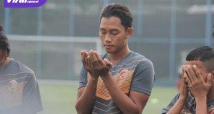 Didik Setiawan bek tengah ikuti trial di Sriwijaya FC. Foto : SFC for viralsumsel.com