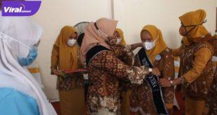Pengukuhan Bunda PAUD dan Duta Cegah Stunting Desa dan Kelurahan Se-Kecamatan Bayung Lencir, Kamis (17/06/2021). Foto : viralsumsel.com/devi