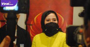 Nirmala Dewi Sekjen Perbasi. Foto : viralsumsel.com