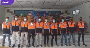 Peserta pelatihan mekanik oleh PT Priamanaya Group di kantor camat Merapi Barat, Lahat, Senin (21/6/2021). Foto : viralsumsel.com/oki