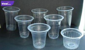 Ilustrasi gelas plastik bekas. Foto : internet