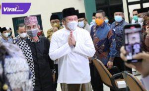 Gubernur Sumsel H Herman Deru buka TC kontingen MTQ Sumsel di Asrama Haji, Palembang, Rabu (7/7/2021) malam. Foto : viralsumsel.com/sep