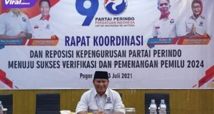 Rudi Hartono Anggota DPRD Provinsi Sumatera Selatan Fraksi Partai Perindo. Foto : viralsumsel.com/oki