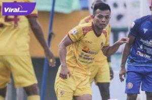 Aditya Wahyudi saat berseragam Sriwijaya FC. Foto : viralsumsel.com/ion