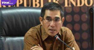 Kuasa Hukum DPP Partai Demokrat Dr. Hamdan Zoelva, SH., MH usai sidang persiapan PTUN Jakarta, Selasa (13/7/2021). Foto : net