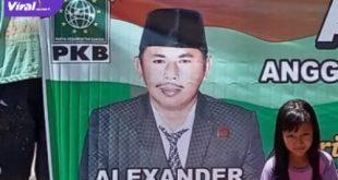 Almarhum Alaksander Anggota DPRD Sumsel dari PKB. Foto : viralsumsel.com /lam