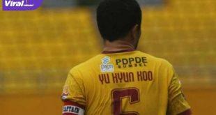 Yu Hyun Koo saat menjadi kapten Sriwijaya FC. Foto : net