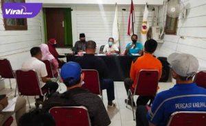 KONI Sumsel gelar pertemuan dengan perwakilan Cabor di Kantor KONI PALI bilangan Komperta Pendopo, Jumat (16/7/2021). Foto : viralsumsel.com/eko