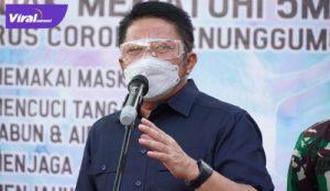 Gubernur Sumsel H Herman Deru beri keterangan pada awak media. Foto : viralsumsel.com/sep