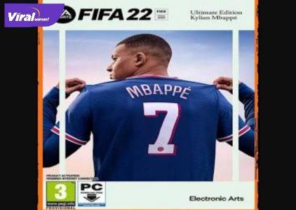 Kylian Mbappe jadi cover FIFA 222 (EA SPORT)