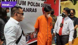 Anggota Unit I Jatanras Polda Sumsel rilis kasus pencurian dengan tersangka RP, Rabu (28/7/2021). Foto : viralsumsel.com/kai