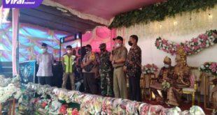 Tim Satgas Covid-19 Lahat mendapati masyakarat yang sedang menyaksikan acara orgen tunggal di Desa Mutar Alam, Kecamatan Kota Agung, Kamis (5/8/2021) pagi. Foto : viralsumsel.com/oki