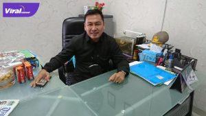 Adhi Zahri Direktur Media PS Palembang. Foto : viralsumsel.com/ion