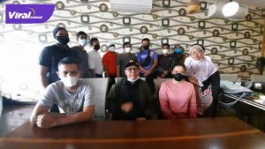 Sejumlah pelatih cabang olahraga peserta pelatihan daerah PON XX Papua meminta maaf, Selasa (17/8/2021). Foto : humas koni sumsel