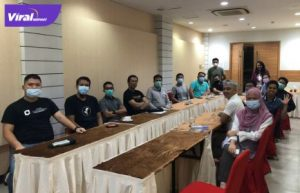 pertemuan para founder startup di Hotel Max One Palembang. Foto : viralsumsel.com/nto