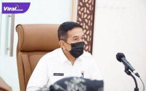 Akhmad Najib Plh Sekda Provinsi Sumsel. Foto : viralsumsel.com