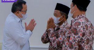 Bupati Muba Dr H Dodi Reza Alex Noerdin Lic Econ MBA terima audensi Pengurus Pimpinan Daerah Muhammadiyah Kabupaten Muba, Rabu (1/9/2022). Foto : viralsumsel.com/devi