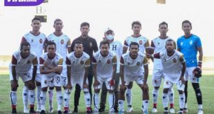 Starting eleven Sriwijaya FC musim 2021. Foto : mo sfc