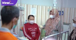 dr Fitri Askolani istri dari Bupati Banyuasin Askolani Jasi langsung gerak cepat alias gercep setelah melihat kabar ada warganya yang butuh bantuan. Foto : viralsumsel.com/noto