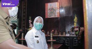 Wakil Walikota Palembang, Fitrianti Agustinda. Foto : viralsumsel.com/fia