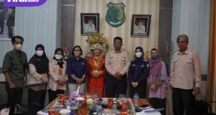 Pemkab Muba mengusulkan Tari Setabik, Andai-Andai Panjang, makanan khas Gula Palu, dan Sagon sebagai WBTB Indonesia Provinsi Sumatera Selatan tahun 2021. Foto : viralsumsel.com/devi