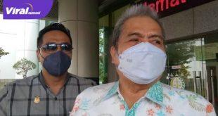 M Yansuri Anggota DPRD Sumsel periode 2014-2819 di Gedung Kejati Sumsel. Foto : viralsumsel.com /rom