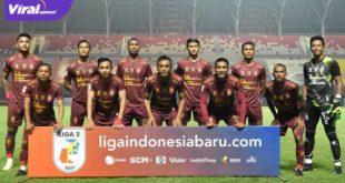 Starting eleven Sriwijaya FC. Foto : LIB